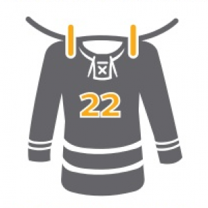 Hockey Jersey on Clothes Line