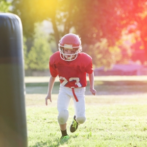 youth football training